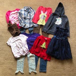 Girls Toddler Clothes Bundle
